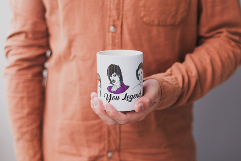 You Legend Ceramic Mug