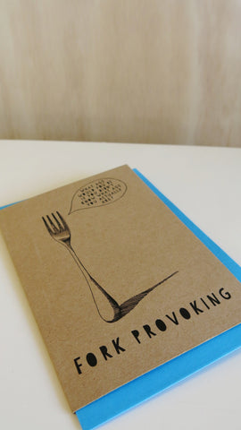 Gift card - Fork Provoking