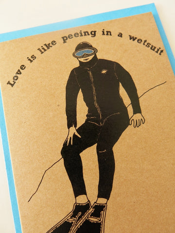 Gift card - Wetsuit love