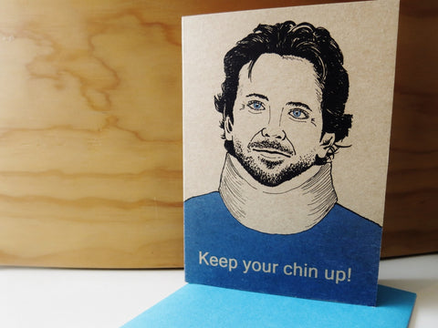 Gift card - Keep your Chin up