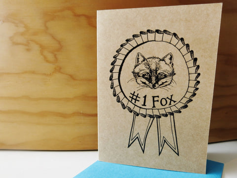 Gift card - No.1 Fox