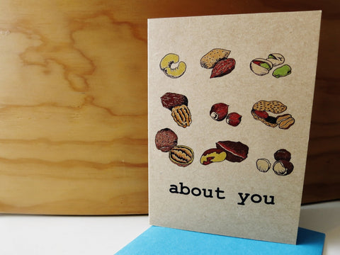 Gift card - Nuts About You