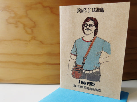 Gift card - Crimes of Fashion 2 Man Purse