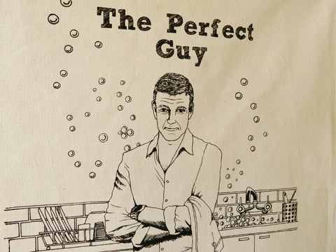 Perfect Guy Tea towel
