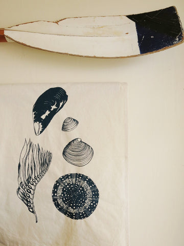 NZ Sea life Tea towel