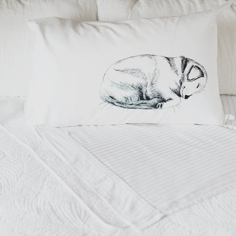 Let Sleeping Dogs Lie Pillow case