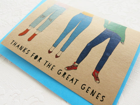 Gift card - Thanks for the Great Genes