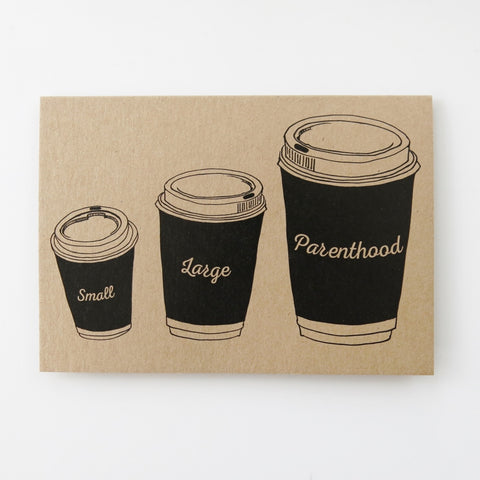 Gift card - Parenthood Coffee cup
