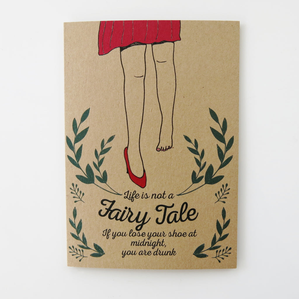 Gift card - Life is Not a Fairy tale