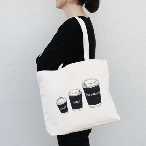 Parenthood Coffee Tote Bag