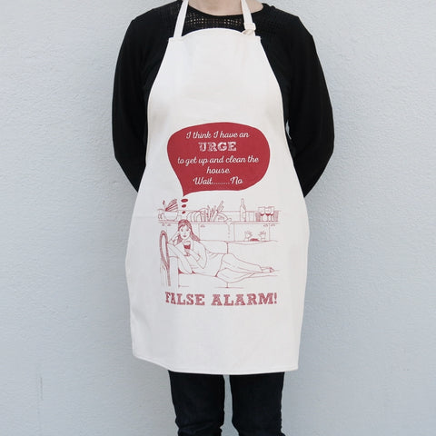 False Alarm Apron