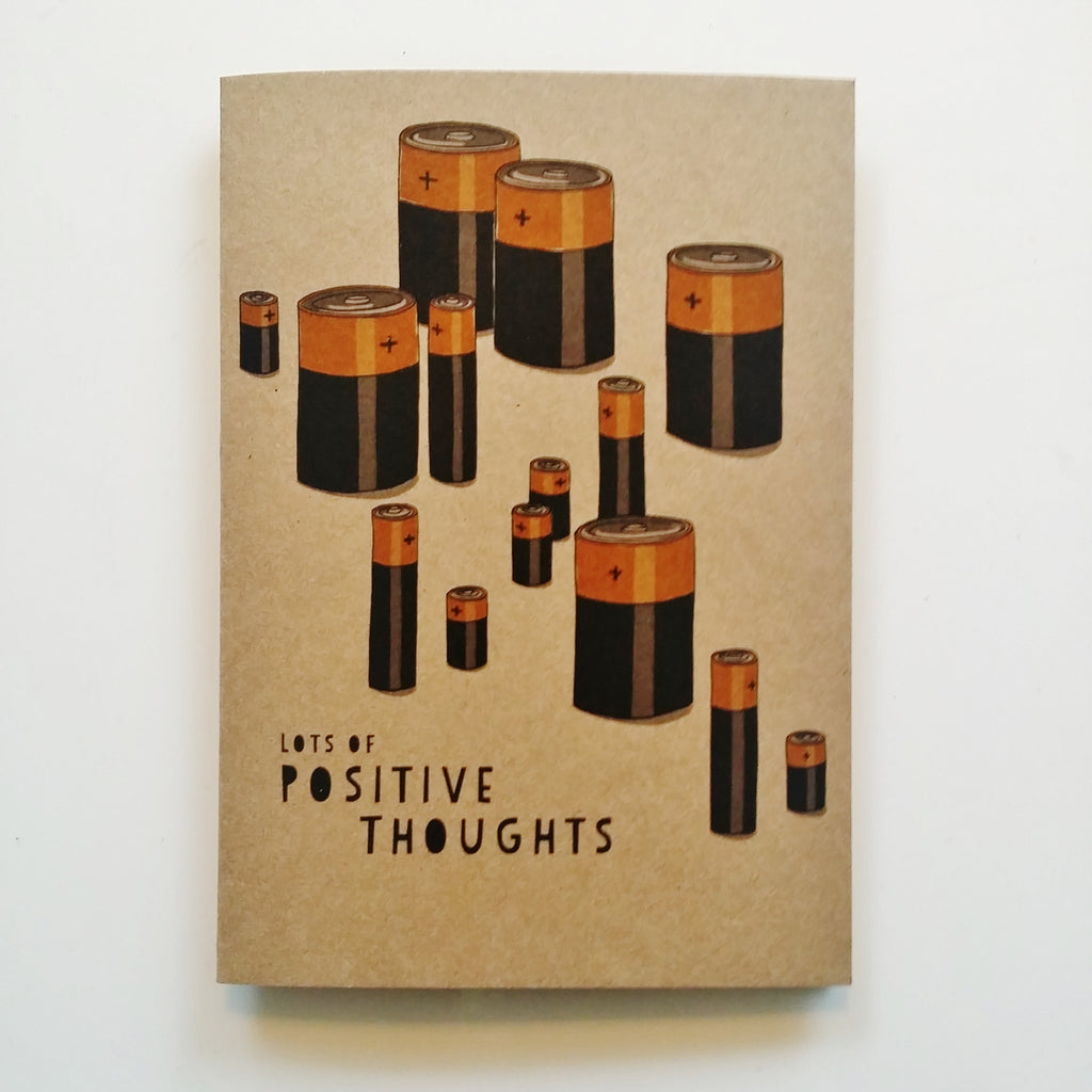 Gift card - Lots of Positive Thoughts