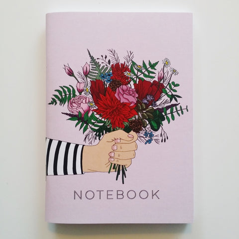 Bunch of Flowers Notebook