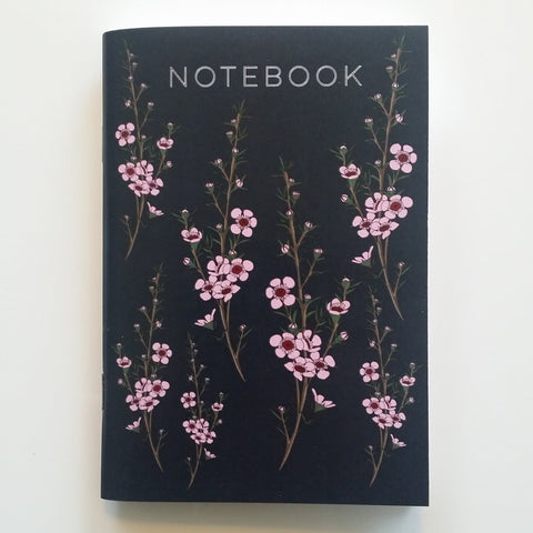 Manuka Flower Notebook