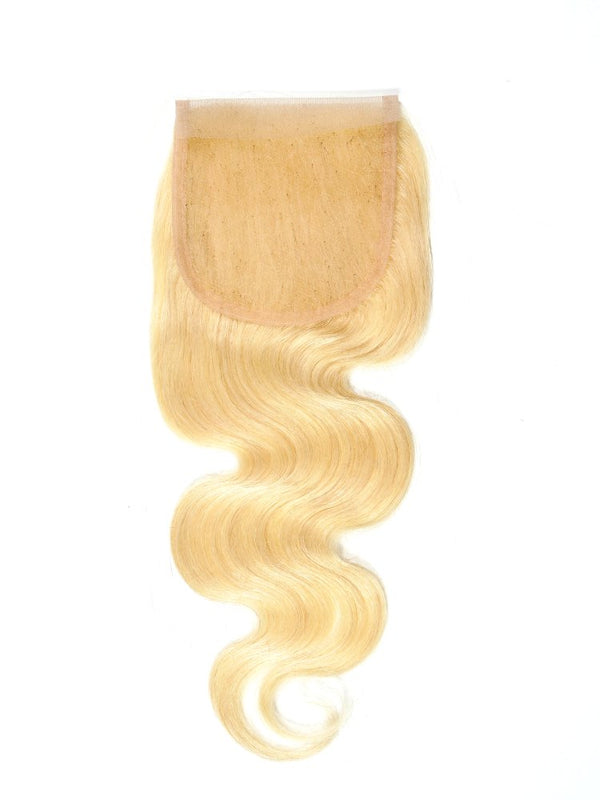 Brazilian #613 Blonde Body Wave Closure