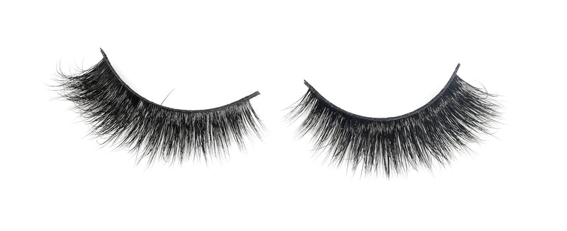Violet  Mink Lashes #4(thick)