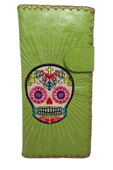 Cute sugar skull wallets