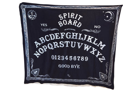 Nemesis Now Ouija Board Print Warm Blanket for Bed Couch Living Room All Season