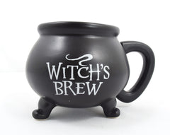 Witch's brew cauldron Mug - Witch Wicca Gothic Gift