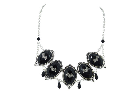 Bat Queen Collar Statement Necklace