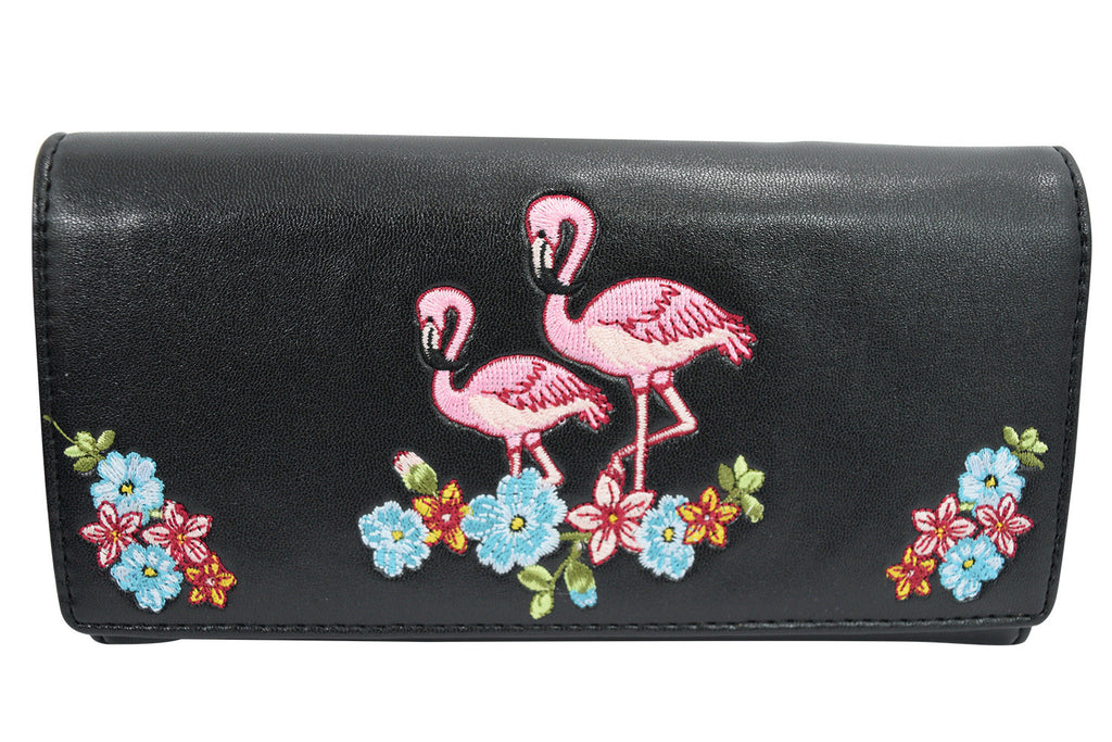 Vintage Flamingo design accessories and purses