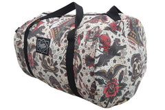 Liquorbrand Flash Americana Tattoo Oversized Duffel Bag - Skelapparel