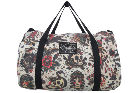 Liquor brand flash americana duffle bag