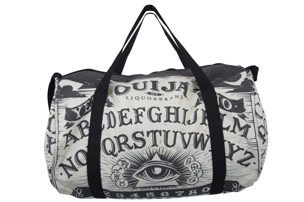 Liquorbrand Ouija Board Oversized Duffel Bag - Skelapparel