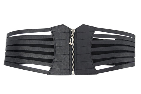 Cage Zip Waist Belt - Skelapparel
