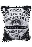 Black magic Ouija Board Halloween pillow