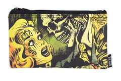 Liquorbrand Horror B Movie Poster wristlet pouch bag and Coin Purse