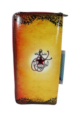 Anchor tattoo art large wallet