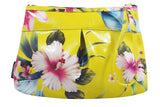 Liquorbrand wristlet purse Hibiscus Prints - Summer Hawaiian Flower Print bag - Skelapparel