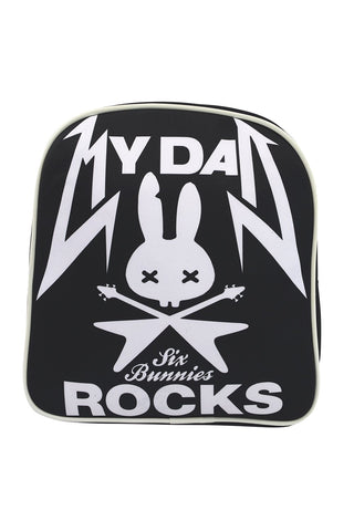 Six Bunnies I love My Dad - My Dad Rocks Kids Backpack - Skelapparel