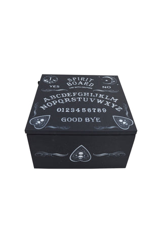 Spirit Board Ouija Board Mirror Box - Ouija Board Keepsake Box
