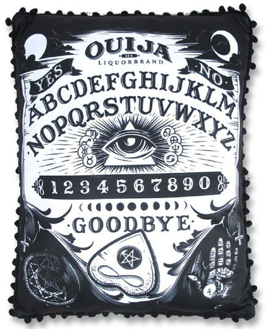 Gothic Emo Room Ouija Board Pillow Holloween party pillow