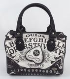 Liquorbrand Ouija Board II Occult Horror Goth Round Purse Handbag Nu-Goth - Skelapparel