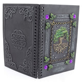 Wiccan Tree Of Life Magical Dream Book Journal Gothic Gift Celtic Goth Gift Item - Skelapparel