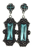 Restyle Evening, victorian earrings VIVIAN gothic Victorian jewelry - Skelapparel