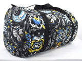 Liquorbrand Sak Yant thai traditional tattoo Art Cotton Oversized Duffel Bag - Skelapparel