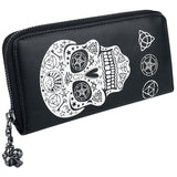 Pentagram Skull Large Wallet