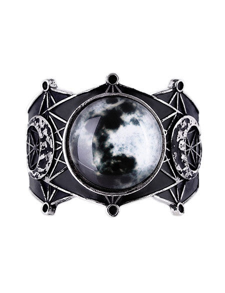 Sacred Geometry Luna Full Moon Bracelet - Skelapparel