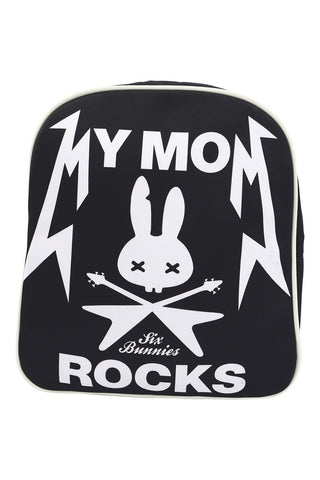 Six Bunnies I love My Mom - My Mom Rocks Kids Backpack - Skelapparel