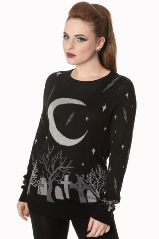 witch moon sweater