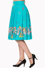 Sophia Mermaid Swing Skirt