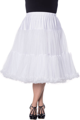 white swing dress skirt petticoat