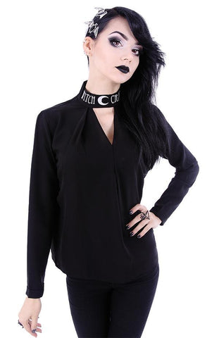 Witchcraft Necklace Choker Blouse