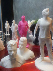 3D Body scans 3d printed