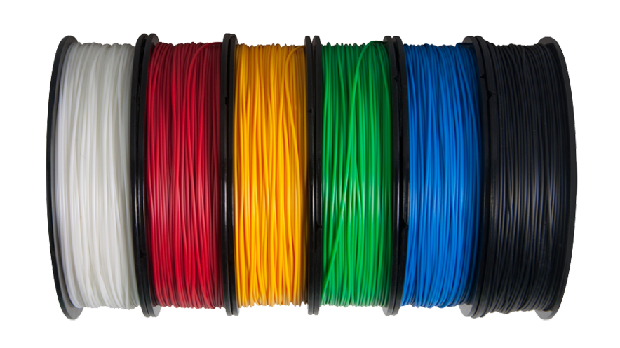Up FIlament by TierTime in a 6 pack of colours