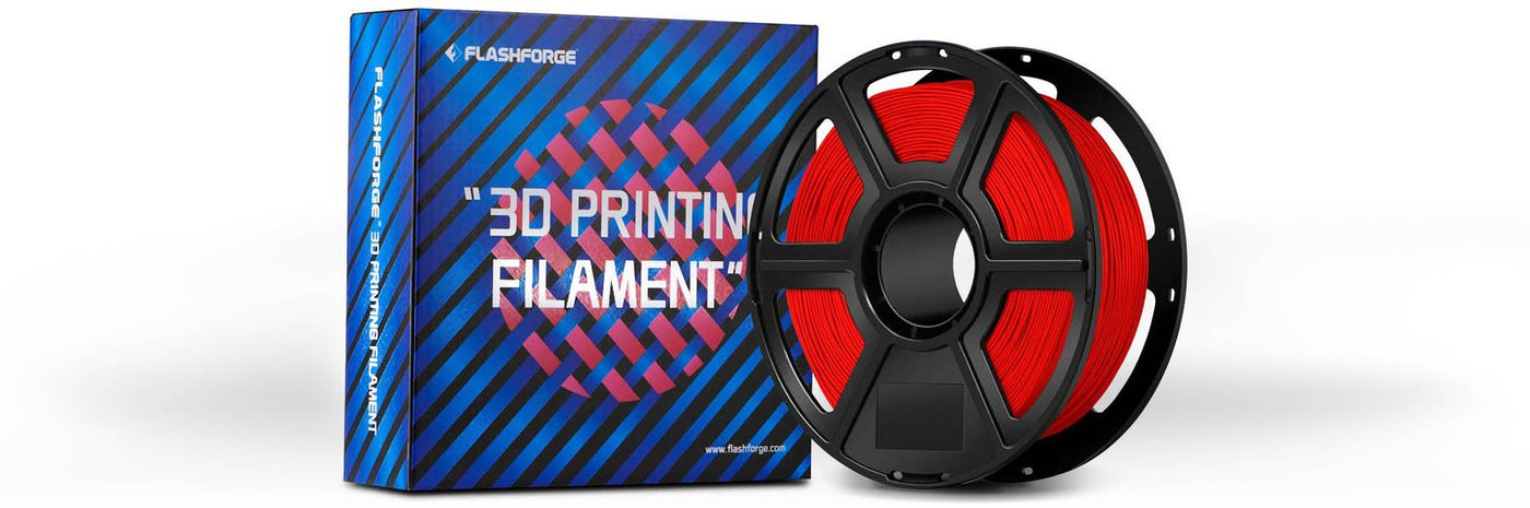 Flashforge ABS Filament Box with spool